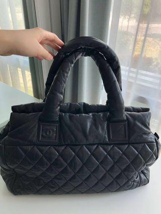 Chanel Rare Leather Coco Cocoon