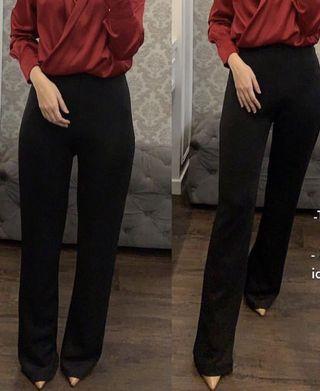 Celana panjang Kulot hitam