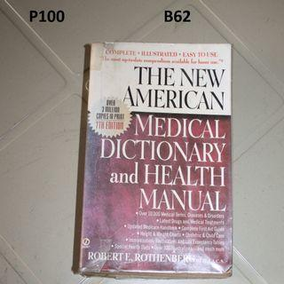 medical dictionary and health manual