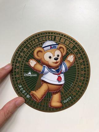 Hkdl Duffy sticker
