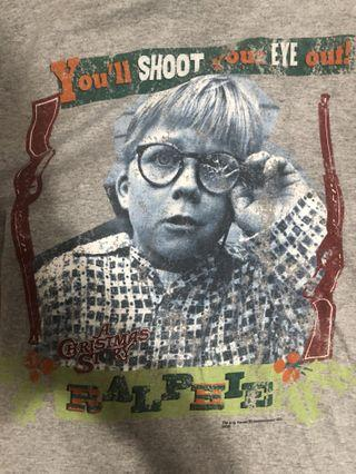 """Vintage you""""ll shoot your eye out tee"""