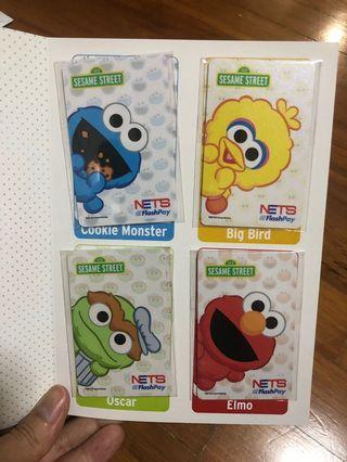 Sesame Street Nets flashpay card