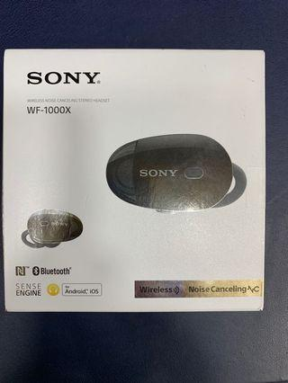 Sony wf 1000x 全新陳列品
