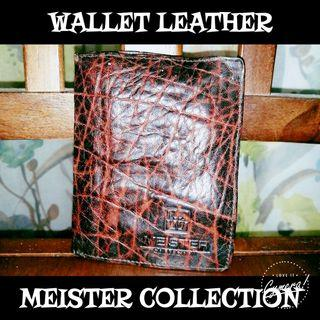Wallet Leather Meister Collection