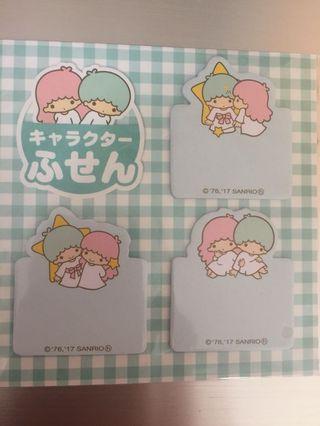 Little Twin Stars 日本正貨 便利貼 包平郵