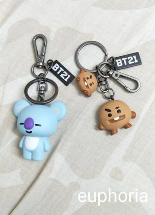 WTS Joys and Shooky figure key ring