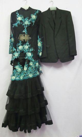 set baju pengantin