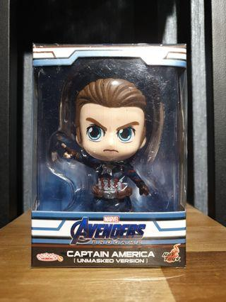 Hot Toys Avengers: Endgame Captain America Unmasked Cosbaby MISB