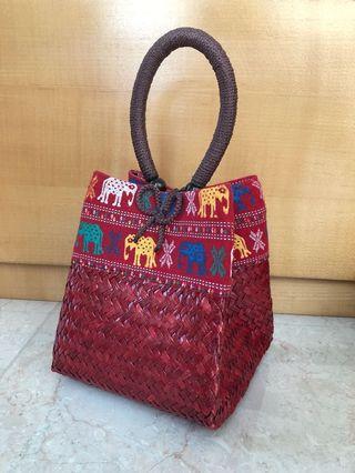 Ethnic Thai Elephant Mini Bag / Tas Etnik