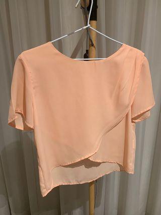 Peach top, size L