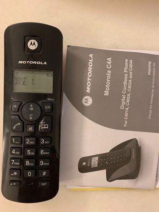 Cordless Phone Motorola C4A