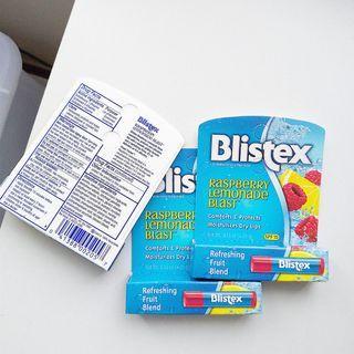 碧唇Blistex 潤澤舒緩護唇膏 果味旋風 SPF15 一支