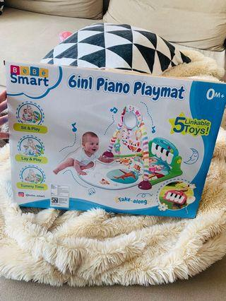 🚚 6in1 Piano Playmat (BRAND NEW)