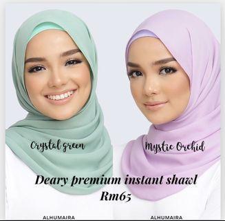 Deary instant shawl alhumaira