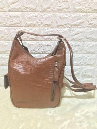 ❗️PRICE REDUCED Vedasto Leather 2 Way Bag