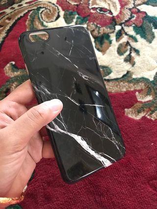 Case iPhone 6Plus MARBLE BLACK