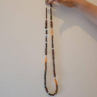 Mango beaded Long Necklace