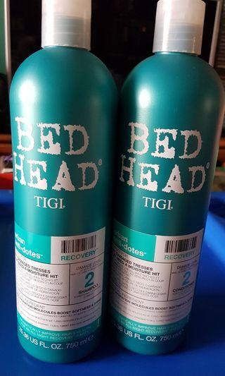 Bed Head Tigi Recovery Shampoo / Conditioner
