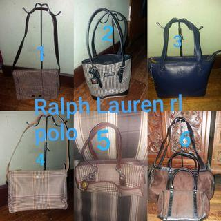 Assorted Preloved Original Ralph lauren rl bags