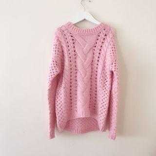 *NEW* Girls knit jumper top size 8-9