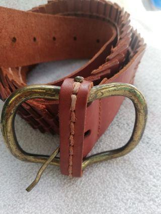 Zara leather belt