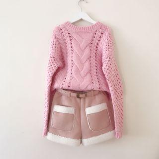 *NEW* Girls Jumper + shorts size 8-9