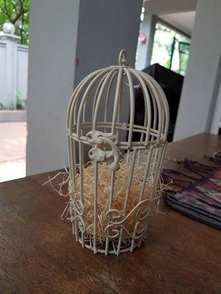 Small bird cage deco