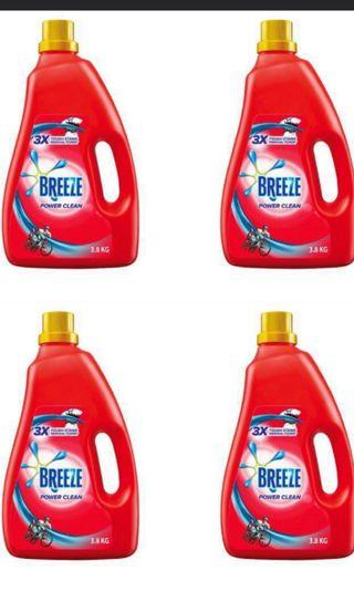 Breeze liquid detergent 4 kg