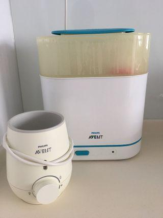 Philips Avent steriliser+warmer