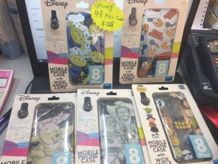 Disney iphone 8 plus電話套 (Tsum TSUM,唐老鴨,Toy Story,三眼仔,Winnie the pool)