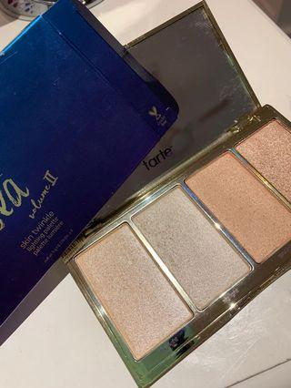 Tarte Rainforest of the Sea Volume II highlight palette
