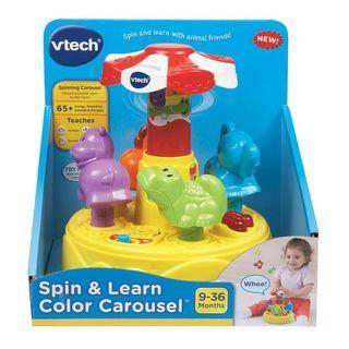 Vtech 旋轉木馬音樂玩具