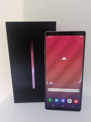 Samsung Galaxy Note 9 lavender(used)
