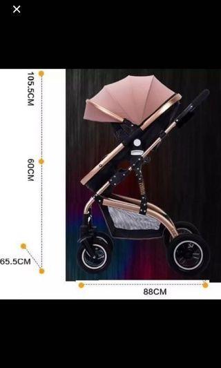 Multifunctional Baby Stroller