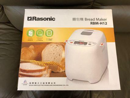 Rasonic 麵包機 RBM-H12 Bread Maker