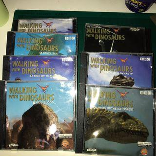 WALKING WITH DINOSAURS VCD