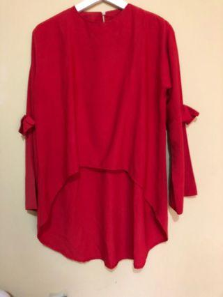#maugopay Red Blouse