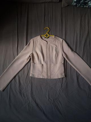 Jacket (NUDE COLOUR)