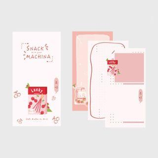 🚚 Snack Machina [Lucky Cherry] Notepad