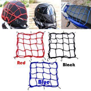 Helmet Net / Cargo Net / Luggage Net for Motorcycle / Escooter / eBike