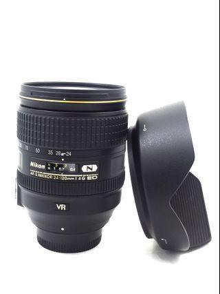 Nikon AF-S 24-120mm F4G