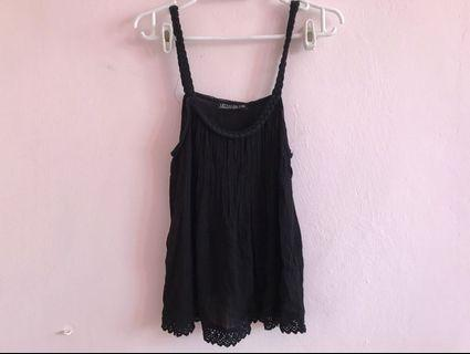 CO lace babydoll top