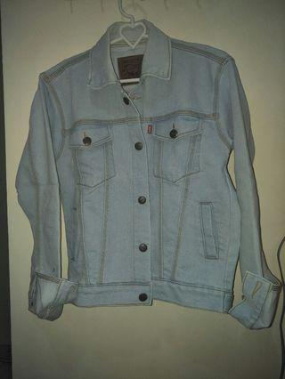 Jaket Jeans telor asin