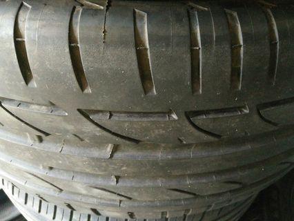 Bridgestone Potenza s001 Tayar 255 45 18 rare Mercedes-Benz size