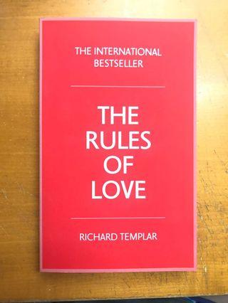 The rules of love the international bestseller
