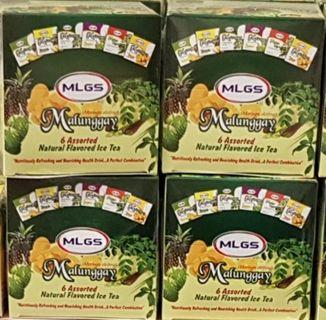 Malunggay 6 assorted natural flavoured ice tea