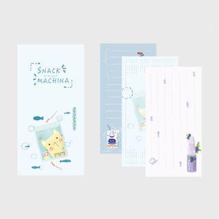 🚚 Snack Machina [Blueberry Jelly] Notepad