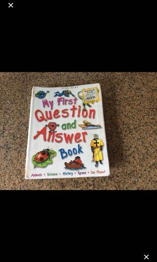 My First and Question Book