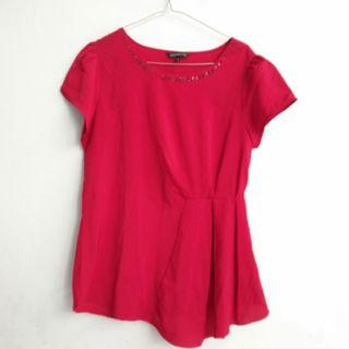 Tops Blouse Connexion Red