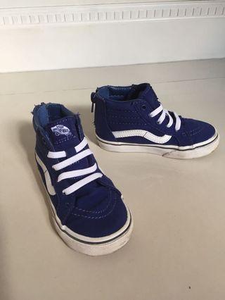 Toddler Shoes VANS US Size 8